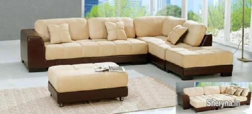 Picture of Sofa set L shape couch brand new Rs30, 800/- factory price